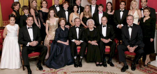 george w bush and family