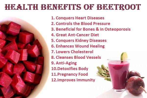 5 Health Benefits of Beets