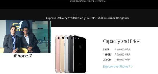 iPhone 7 on flipkart