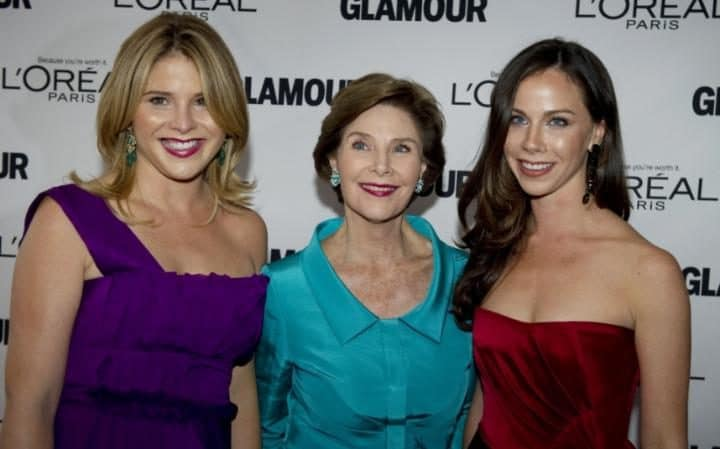 jenna laura and barbara bush