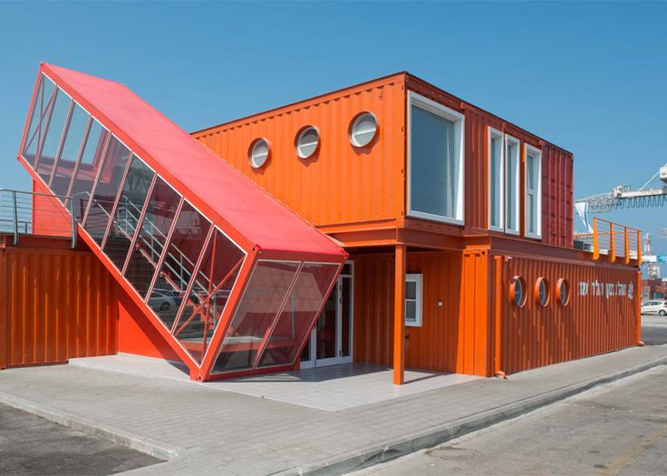 turning shipping containers