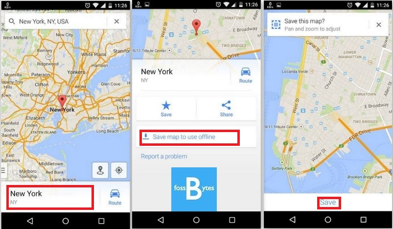 android geolocation