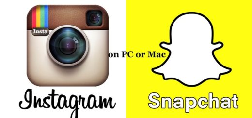 Instagram and Snapchat For PC