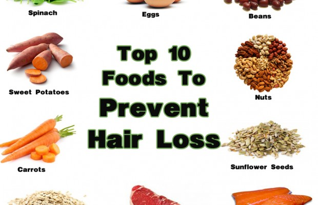 food for reduce hirloss