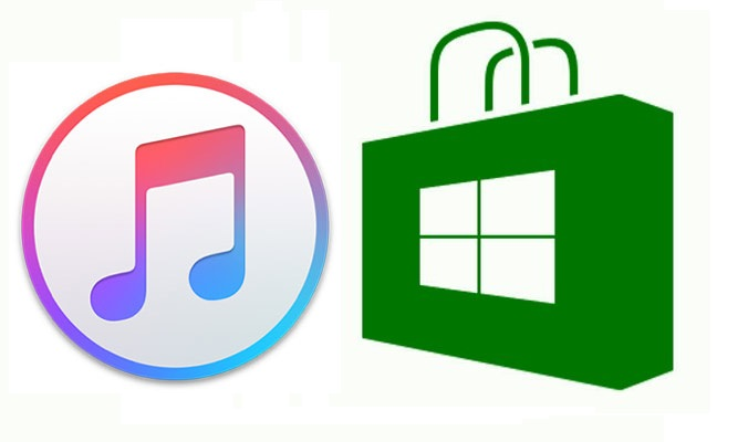 itunes on windows store