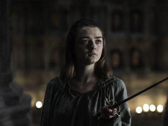 Arya in games of thrones 7