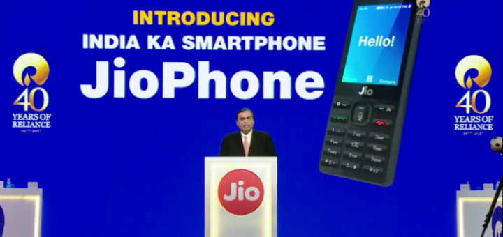 JioPhone launching