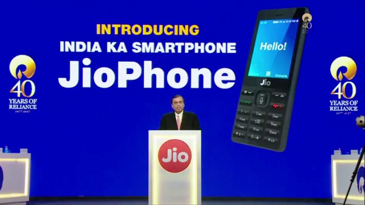 Jio Phone launching
