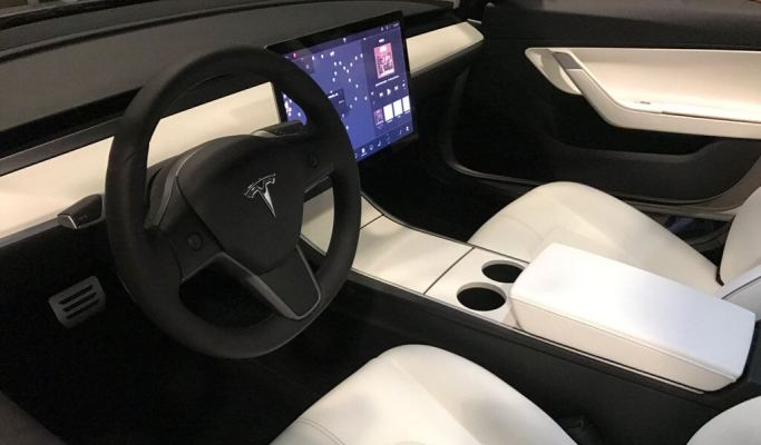 tesla model 3 interior and features