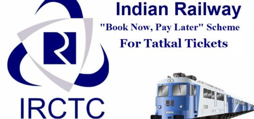 IRCTC book now pay later option