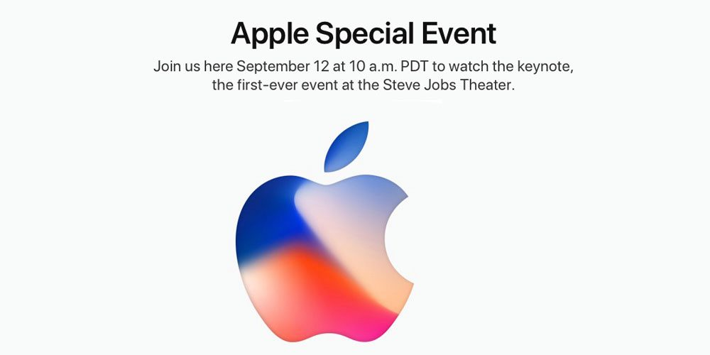 apple live event iphone 8 launching