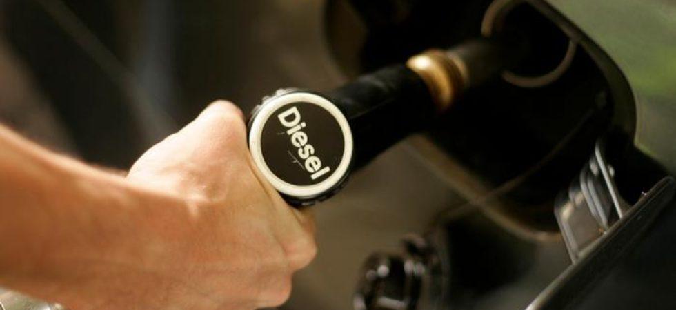 diesel price today