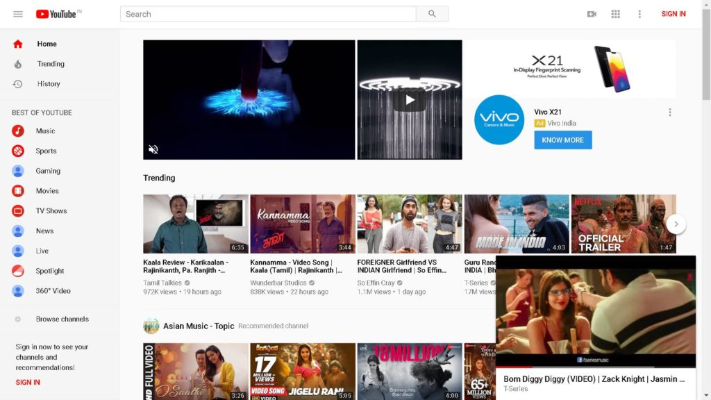 Youtube Mini Player Feature For Desktopbrowserpc Ganvwale